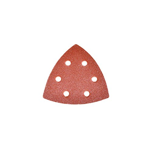 ALEKO 50 Pieces 150 Grit Mouse Sandpaper Sheets With 12 Holes 6.5 In