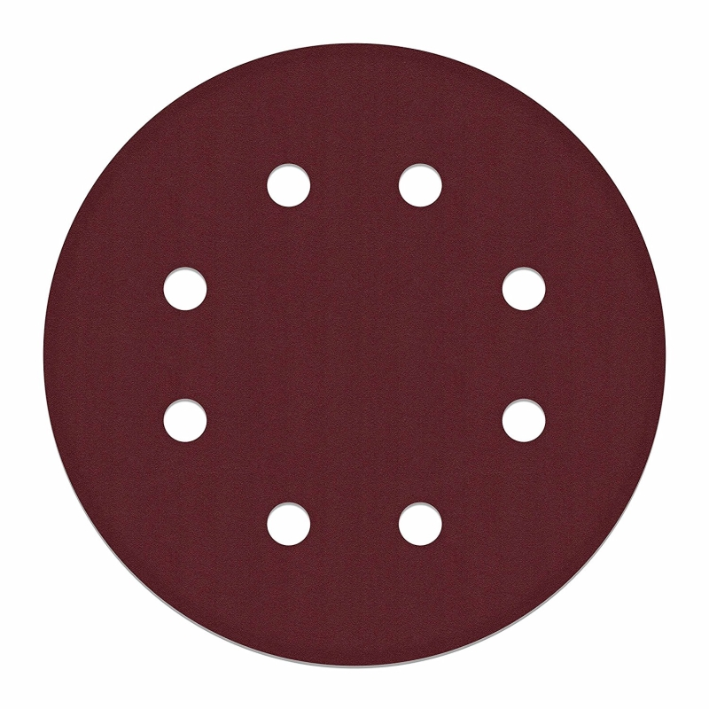 ALEKO 9in Diameter 10Pcs Sand Paper with Holes 240G for Drywall Sander DP-3000