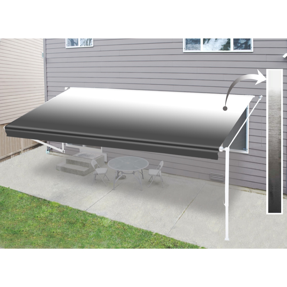 ALEKO Water Resistant Vinyl RV Awning Fabric Replacement ...