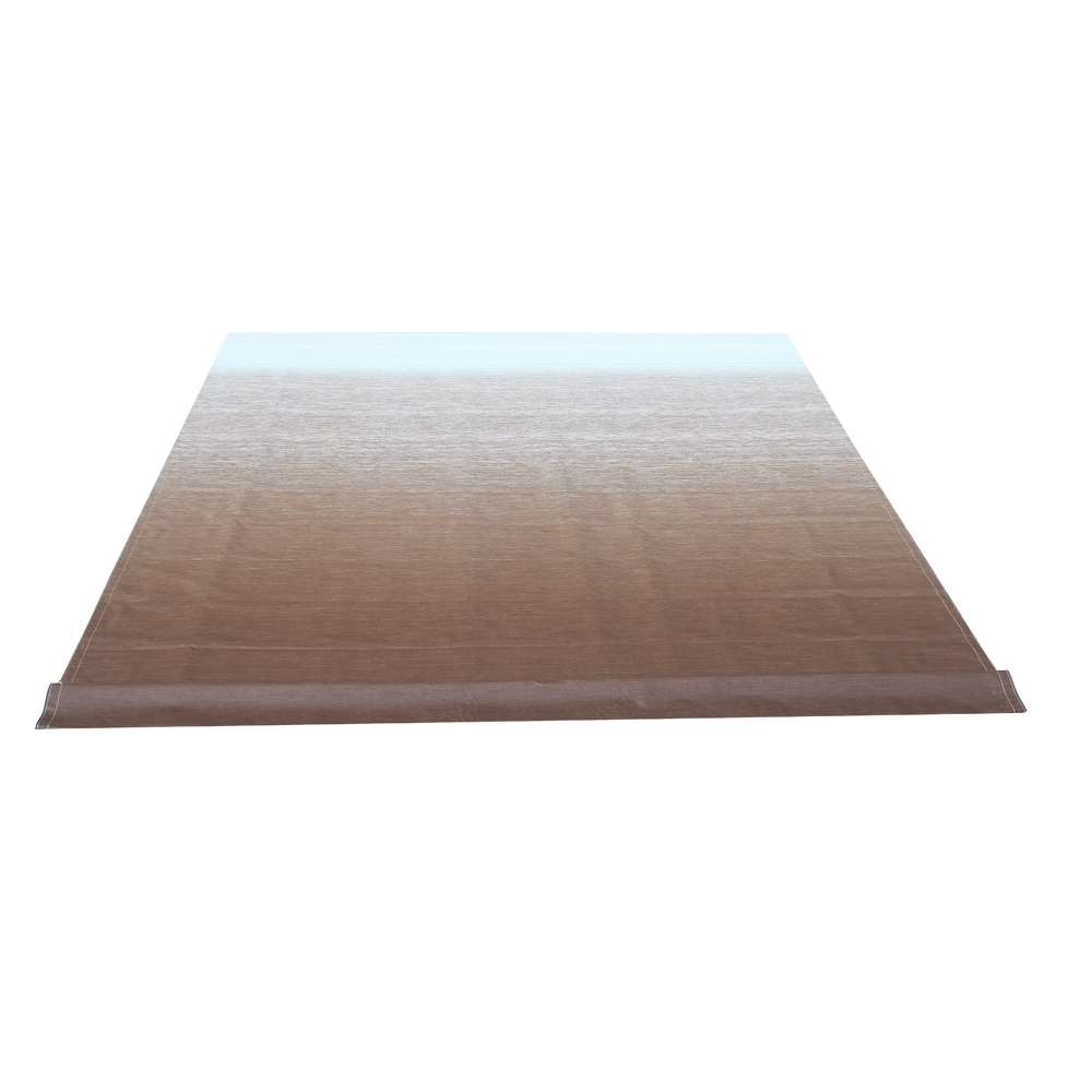 ALEKO Vinyl RV Awning Fabric Replacement 20X8 ft Brown ...