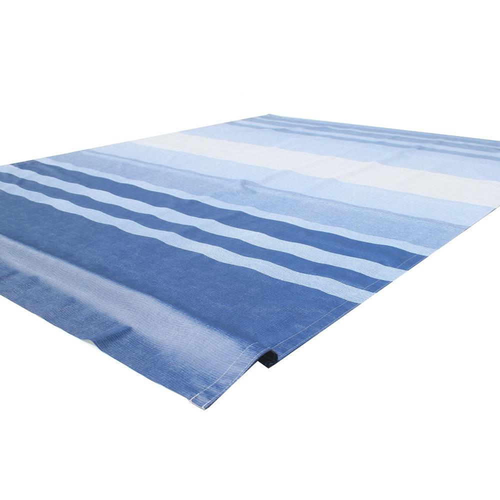 ALEKO Vinyl RV Awning Fabric Replacement 16X8 ft Blue ...