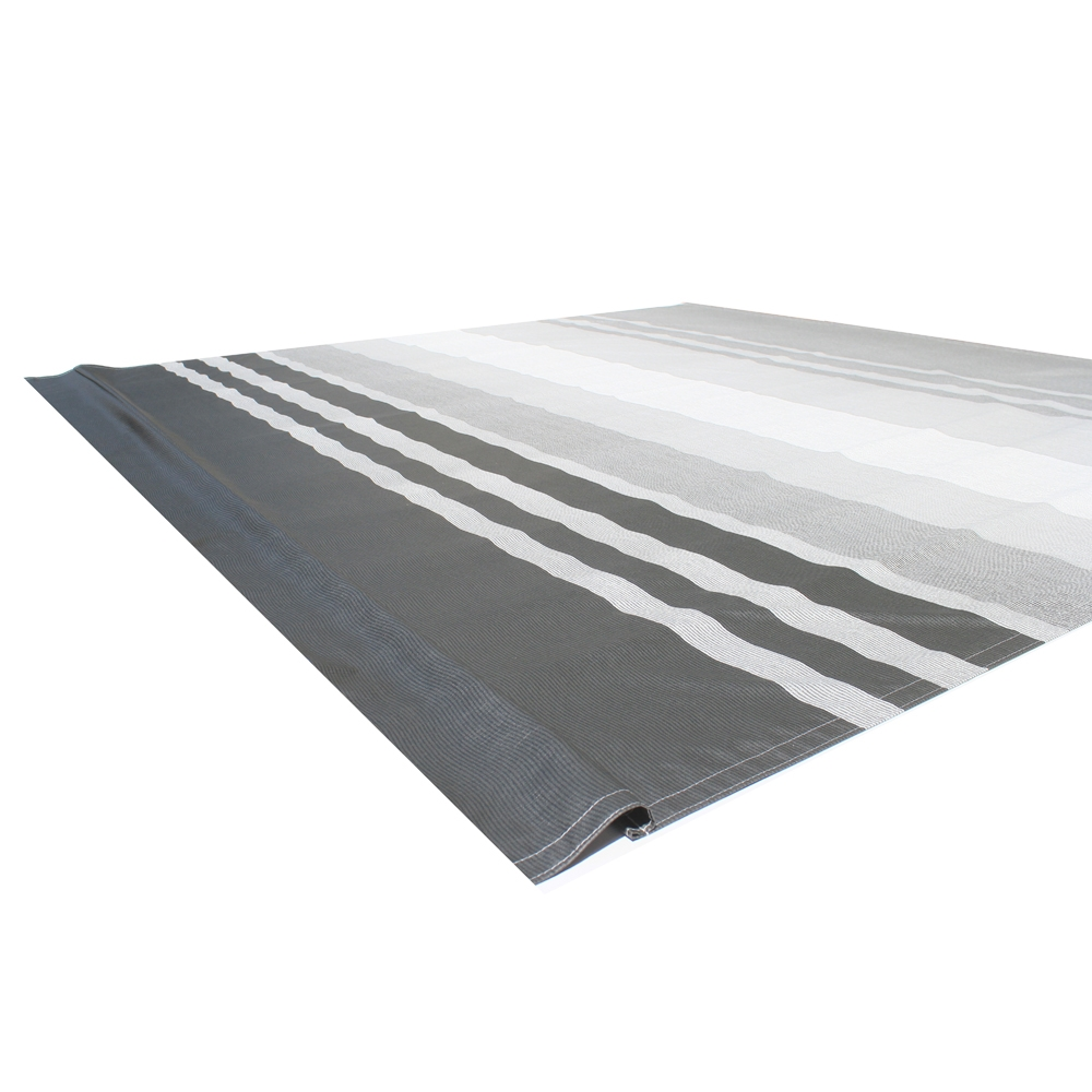 ALEKO Vinyl RV Awning Fabric Replacement 12X8 ft Black ...