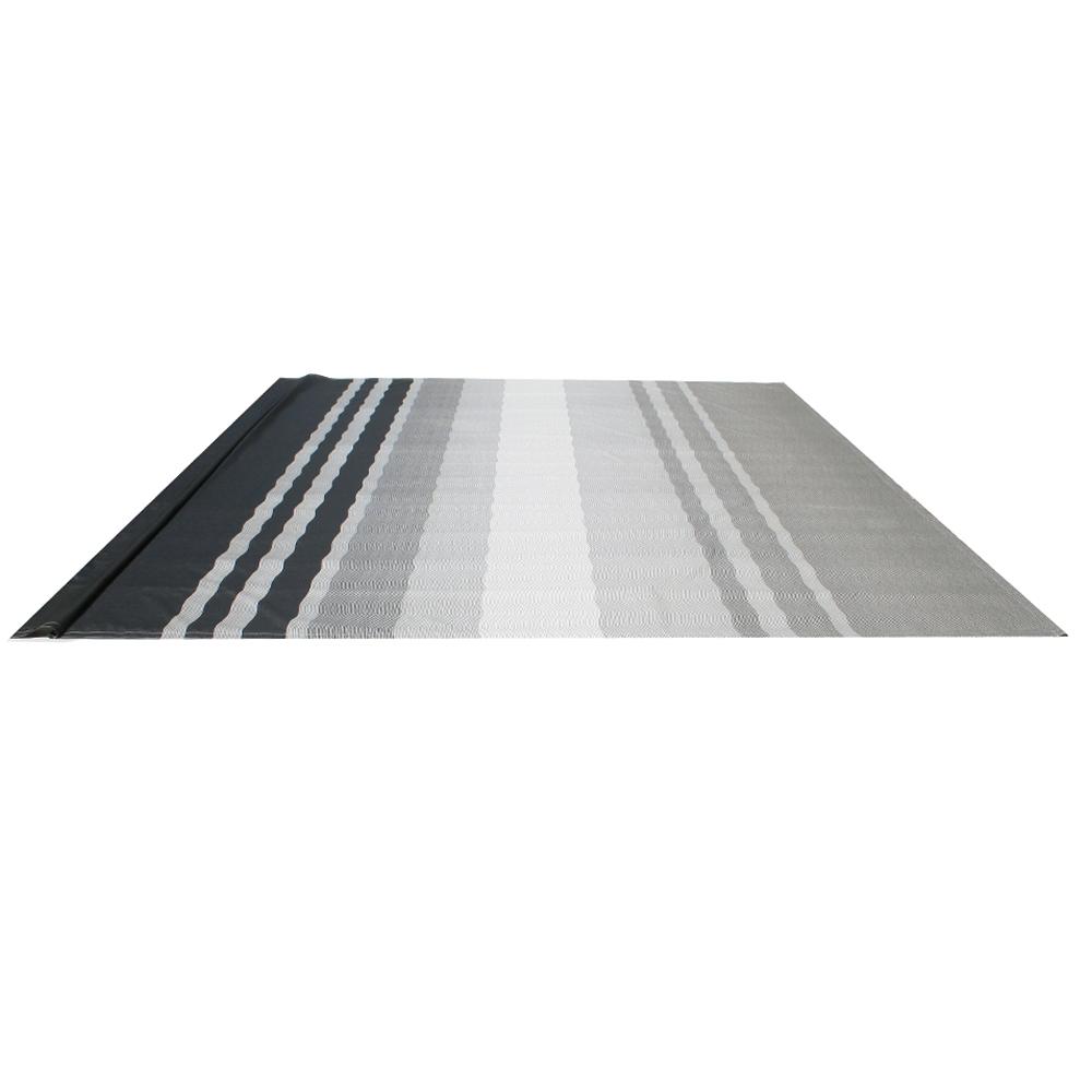 ALEKO Vinyl RV Awning Fabric Replacement 12X8 ft Black ...