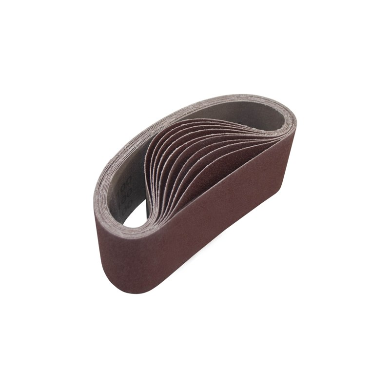 ALEKO 4 Inch x 24 Inch 200 Grit Aluminum Oxide Sanding Belt Pack of 20