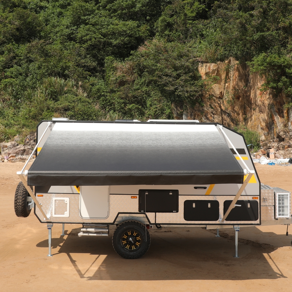 ALEKO Retractable RV Home Patio Canopy Awning, White to ...