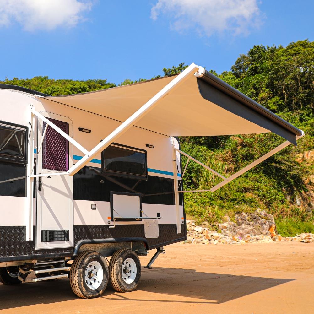 ALEKO 13'X8' Retractable Motorized RV or Home Patio Canopy ...